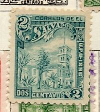 Salvador 1897 Early Issue Fine Mint Hinged 2c. 272585