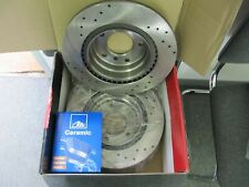 2x Sport Brake Discs And ATE Ceramic Coverings Audi, VW Bora, Golf IV Front