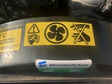LAND ROVER WOLF WMIK  DEFENDER 90 110 DISCOVERY Fan Cowl Warning Decal ESR3291