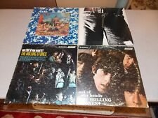 4 Rolling Stones LP's Their Satanic Majesties Request, Out Of Our Heads, etc.