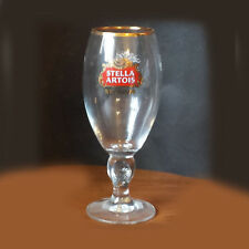 STELLA ARTOIS Beer Glass 14 oz Footed Original Collectible Pilsner