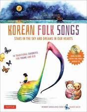 KOREAN FOLK SONGS by ROBERT SANG-UNG CHOI HCDJ W CD 14 Traditional songs