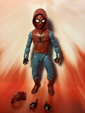 "Marvel Legends Mcu Homemade suit Spiderman Spider Man Homecoming 6"" loose"