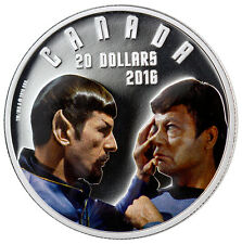 2016 $20 Iconic Star Trek Scenes: Mirror, Mirror, 1 oz  Pure Silver Color Proof