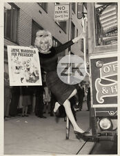 JAYNE MANSFIELD Blonde Book Poster President THE WHITE HOUSE or BUST Photo 1964