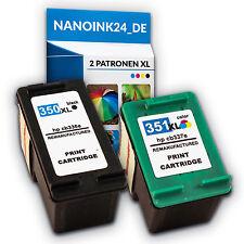 2x Tintenpatronen für HP 350 XL + 351 XL I C4580 C5280 D5360 C4280    bei Nano