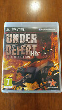 Under Defeat HD Deluxe Ed. (Sony PlayStation 3, 2012) EUROPE RELEASE WORKS ON US