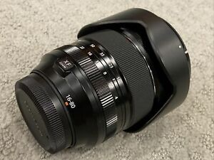 Fujifilm Fujinon Fuji XF 16-80mm F/4 F4 R OIS Super EBC Lens Caps and Hood *Mint