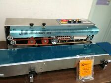 FRD-1000S HORIZONTAL CONTINUOUS BAND SEALER&INK CODER MACHINE 110V