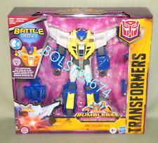 """METEORFIRE Transformers Cyberverse Battle Call Trooper 5.5"""" Figure Meteor Fire"""
