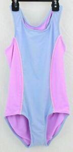 Freestyle Revolution Girl's Body Suit Sleeveless One Piece Purple  Size 14