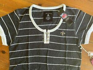 NWT Antigua NEW ORLEANS SAINTS Shirt Size: Medium
