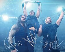 THE SHIELD (Reigns, Rollins & Ambrose) #3 (WWE) - 10x8 PRE PRINTED LAB PHOTO