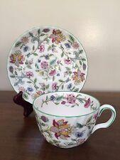 Minton HADDON HALL Flat Cup & Saucer Set