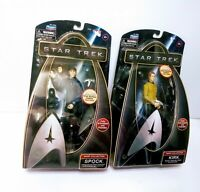 Star Trek Warp Collection Captain Kirk/Spock 6in action figures by Playmates NIB
