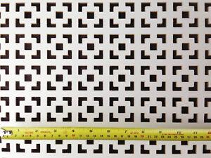 Radiator cover grille decorative screening panel Dakota design