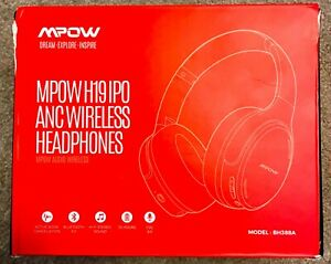Mpow H19 Over the Head IPO Active Noise Cancelling Headphones - Black