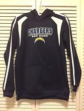 San Diego Chargers Youth-Boys Hoodie NFL Performance Sweatshirt-XL-16-18  -*NEW*