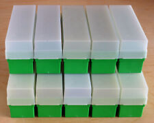 10 EMPTY FUJI SLIDE BOXES FOR 35MM FUJICHROME TRANSPARENCIES