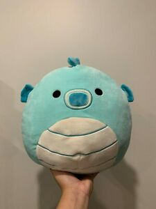 """12"""" Sheldon the Seahorse Squishmallow! BNWT (detached)! US Exclusive Size!"""