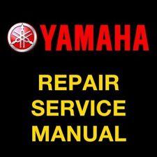 Yamaha Srx700 2000 2001 2002 Snowmobile Repair Service Manual