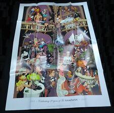 Celebrating 20 Years of Sandman promo poster (DC 2008) Endless Death Morpheus