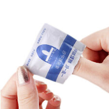 200PCS UV Gel Cleanser Wipes Prep Wipe Alcohol Gel Polish Nail Wrap No Residue