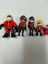 Disney The Incredibles 2 Movie Family Action Figure Boat Replacement Dolls Euc