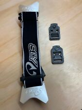 SLY PROFIT REPLACEMENT GOGGLE STRAPS - BLACK/ WHITE