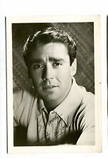 Vintage Movie Star Fan Photo w printed autograph PETER LAWFORD actor  3x5