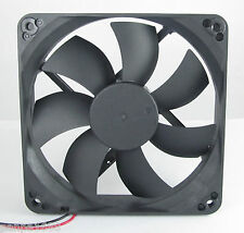 10pcs Brushless DC Cooling Fan 140x140x25mm 140mm 14025 7 blades 24V 2pin UK