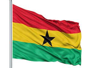 Giant National Flag Of Ghana The Black Stars SPEEDY DELIVERY