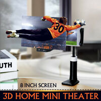 Titulaire de Lit 8'' 3D HD Téléphone Écran Loupe Amplificateur Support
