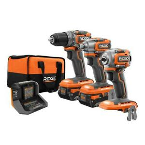 18-Volt Lithium-Ion Brushless Cordless SubCompact Combo Kit (3-Tool)