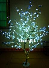 5ft 480pcs LED Cherry Tree Light Wedding Home Decor White Outdoor Christmas Tree
