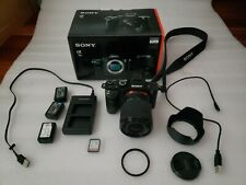 Sony Alpha a7 II full frame mirrorless with 28-70mm kit lens and extras