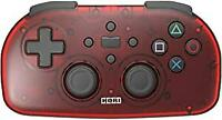 SONY licenseproduct wireless controller light for PlayStation R 4 clear red
