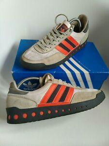 Adidas pt men's trainers Size 9 originals grey orange retro