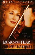 """Music of The Heart movie poster (a) -  11"""" x 17"""" inches - Meryl Streep"""