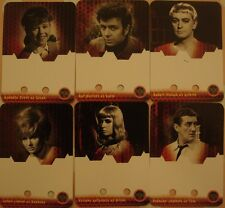 DR WHO - DALEKS INVASION EARTH 2150 AD: PRINTERS PROOFS - 8 AUTOGRAPH CARDS