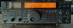 ICOM IC736 TRANSCEIVER, vgc, with manuals & wiring diagrams