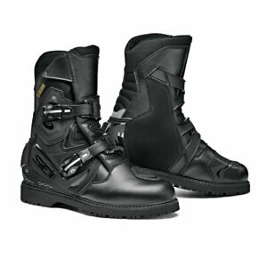 SIDI Mid Adventure 2 Gore-Tex Black motorcycle Boots, GTX, Free Shipping, New!