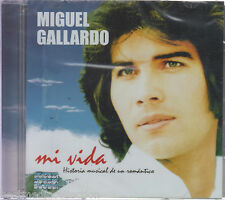 SEALED Miguel Gallardo CD NEW Mi Vida HISTORIA Musical De Un Romantico BRAND NEW