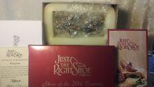 Just The Right Shoe Rising Star 25043 20th Century 1999 New Nrfb Raine Box Coa
