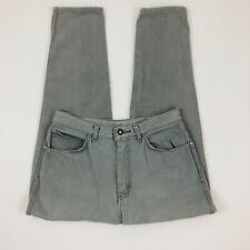 Vintage GITANO JEANS High Waisted Gray MOM TAPERED 13/14 Short