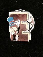 Disney Jiminy Cricket 'E' Cast Pinocchio Pin