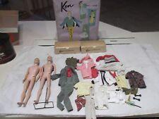 Vintage Barbie Doll KEN DOLL LOT Mattel 60's Clothes Dolls Parts Restore Mattel