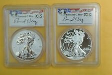 2013-W Silver Eagle West Point Mint Set - MOY SIGNED FS- PCGS MS70/PR70
