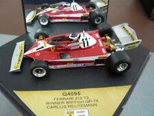 Quartzo,1/43 scale Ferrari 312T3, Carlos Reutemann, winner British GP 1978.