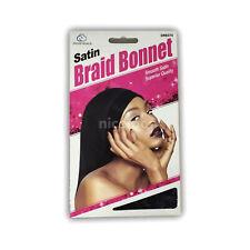 Satin Braided Bonnet Hat Cap Super Long Hair Protection Rasta Cover Locks XL